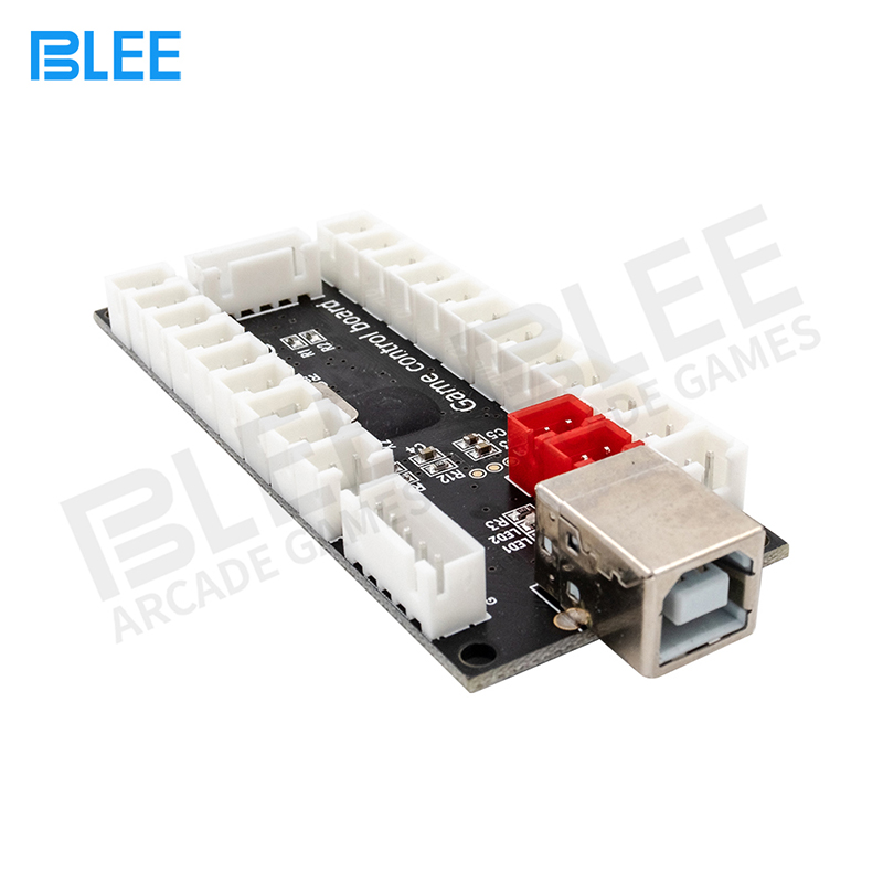 product-Arcade DIY joystick arcade board USB zero delay Encoder black game control board-BLEE-img