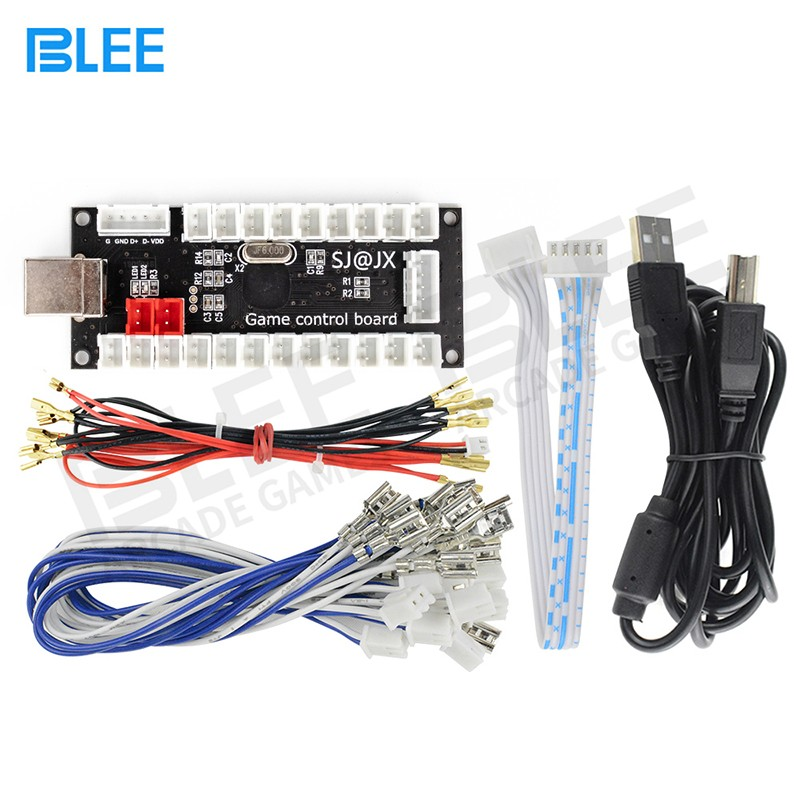 product-BLEE-Arcade DIY joystick arcade board USB zero delay Encoder black game control board-img