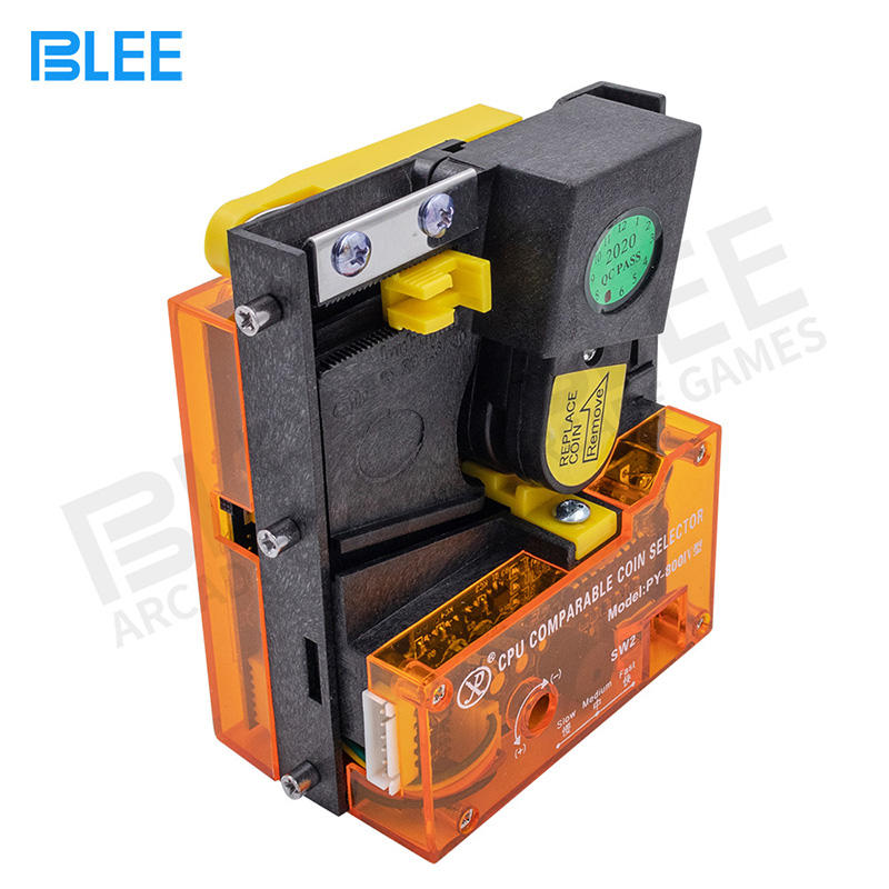 Electronic multi coin acceptor-PY800