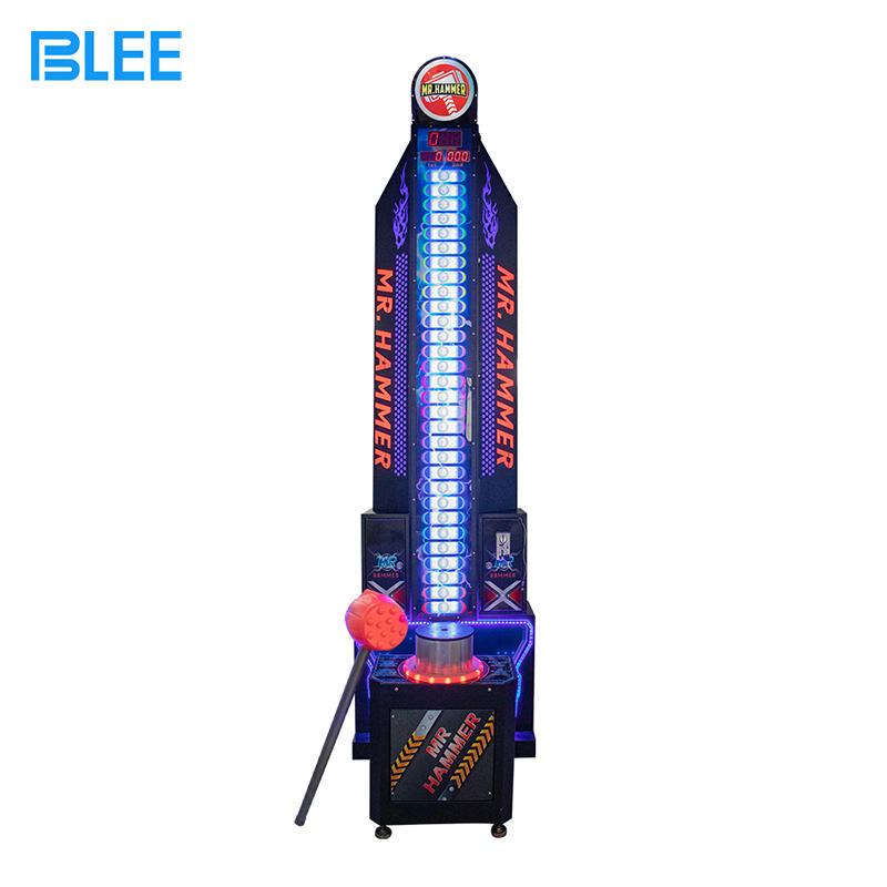 King Of Hammer Hitting Hammer Arcade Game Machine