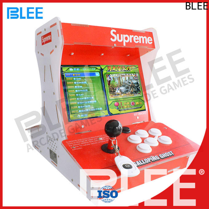 BLEE fine-quality street fighter arcade machine certifications for convenience store