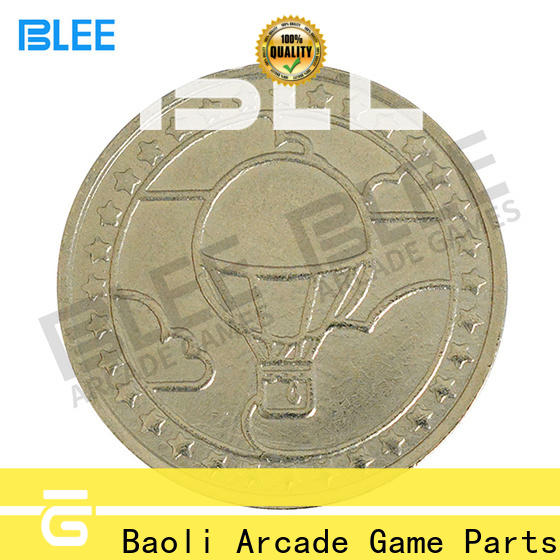 BLEE hot sale brass tokens coins simple for free time