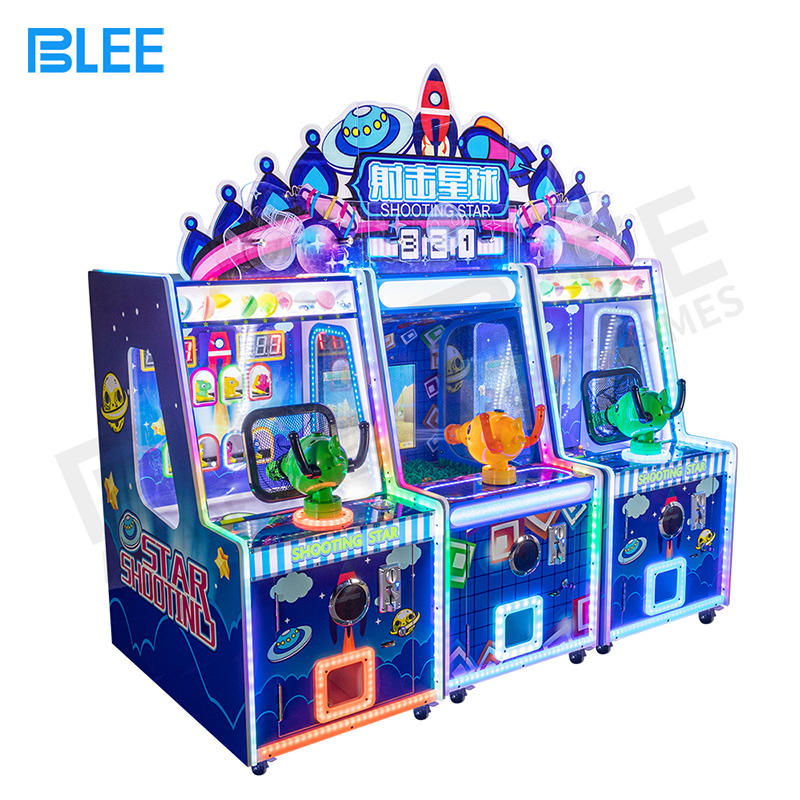 Newest 3 in 1 kids ball & water shooting arcade game machine