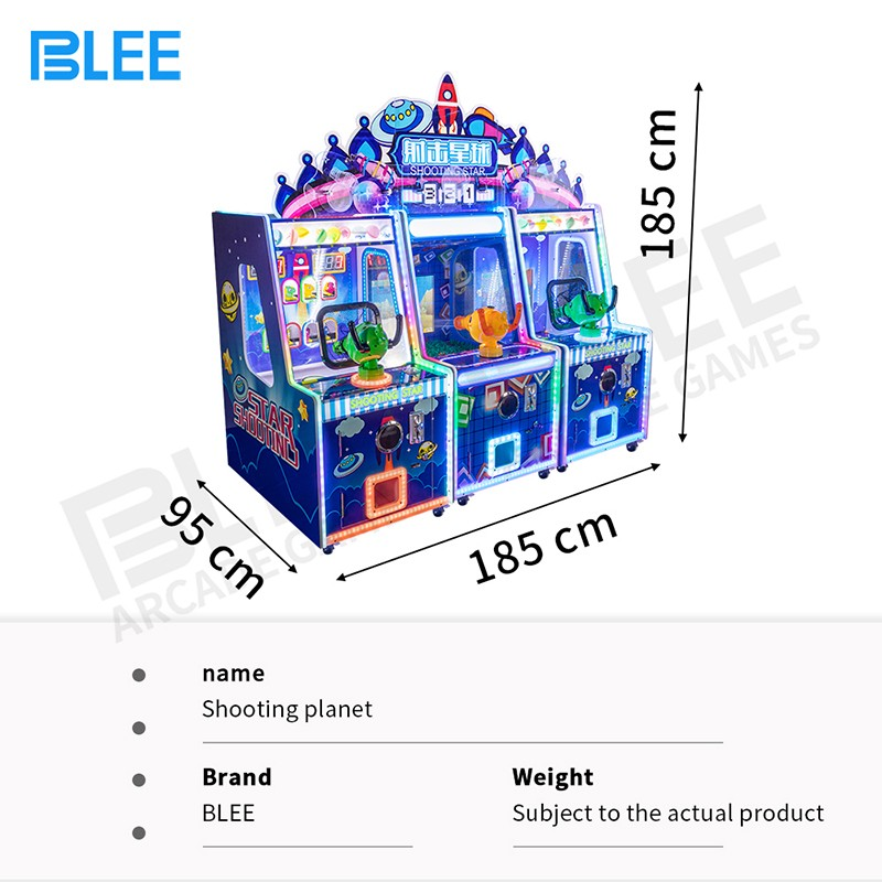 product-Newest 3 in 1 kids ball water shooting arcade game machine-BLEE-img