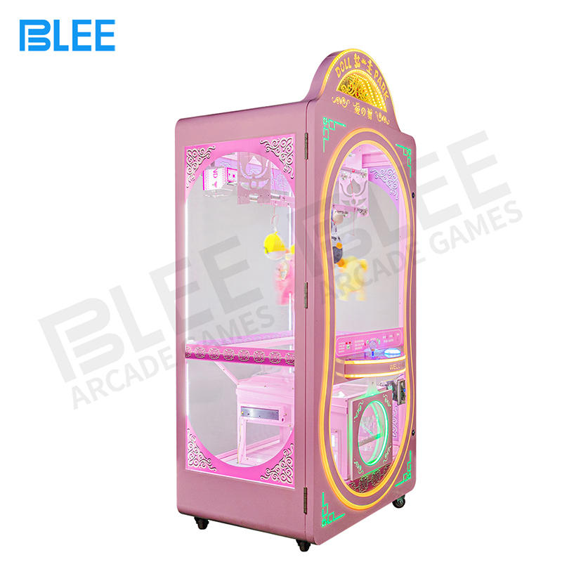 Wholesale Customized Amusement Game Center Coin Operated Scissors Machine Cutting Rope Prize Gift Vending Machine