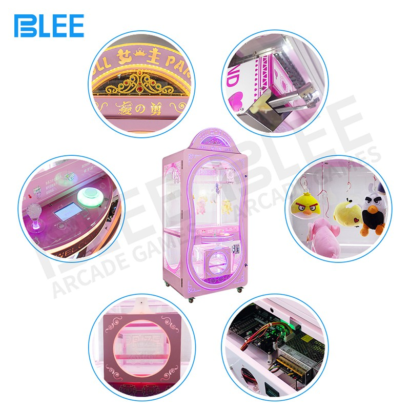 product-BLEE-Wholesale Customized Amusement Game Center Coin Operated Scissors Machine Cutting Rope