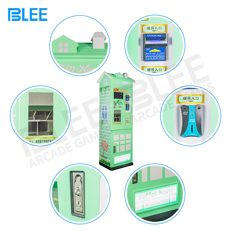 Hot Sale Singapore Paper Money Coin Changer Machine Arcade Token Coin Exchange Machine