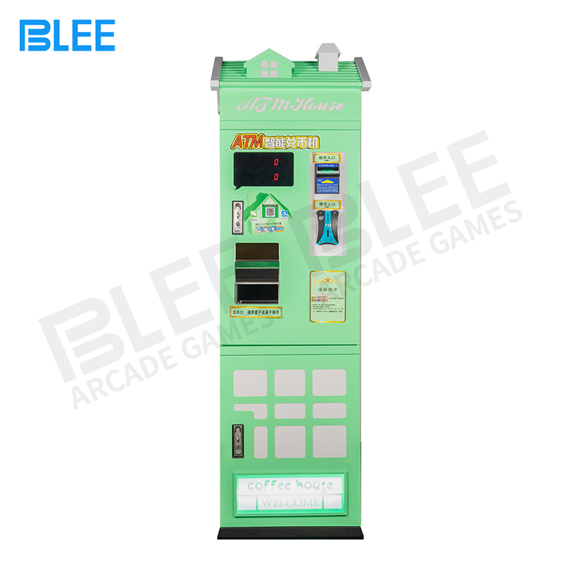 product-BLEE-Hot Sale Singapore Paper Money Coin Changer Machine Arcade Token Coin Exchange Machine-
