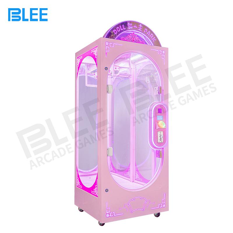 product-Customize Coin Operated Prize Vending Machines Cut Ur Prize Push Toy Scissors Crane Machine