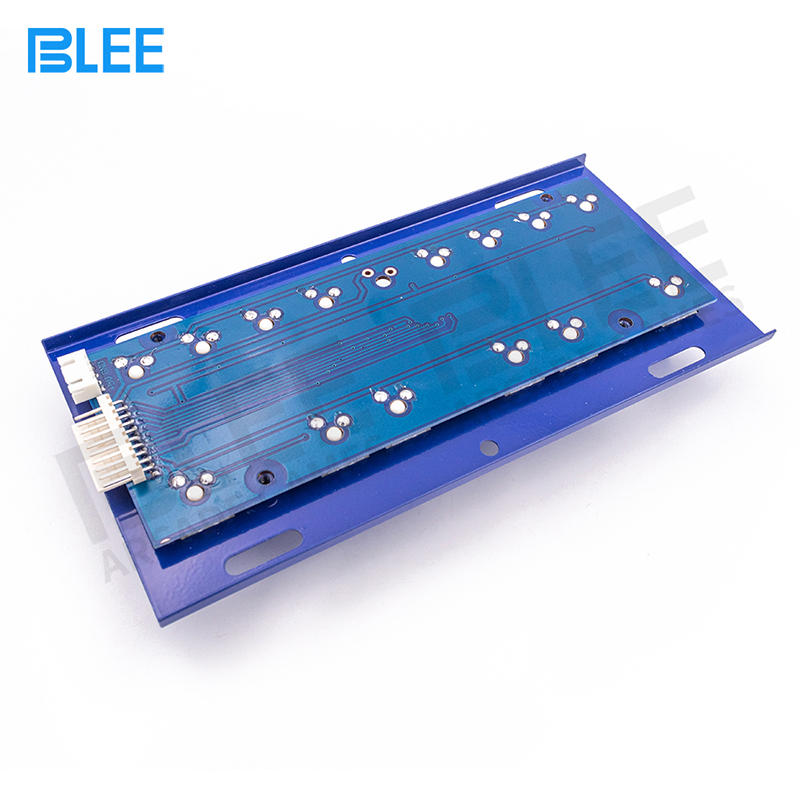 Slot Game Machine Lighted Keyboard With 14 Keys Mechanical Button Switch Keyboard