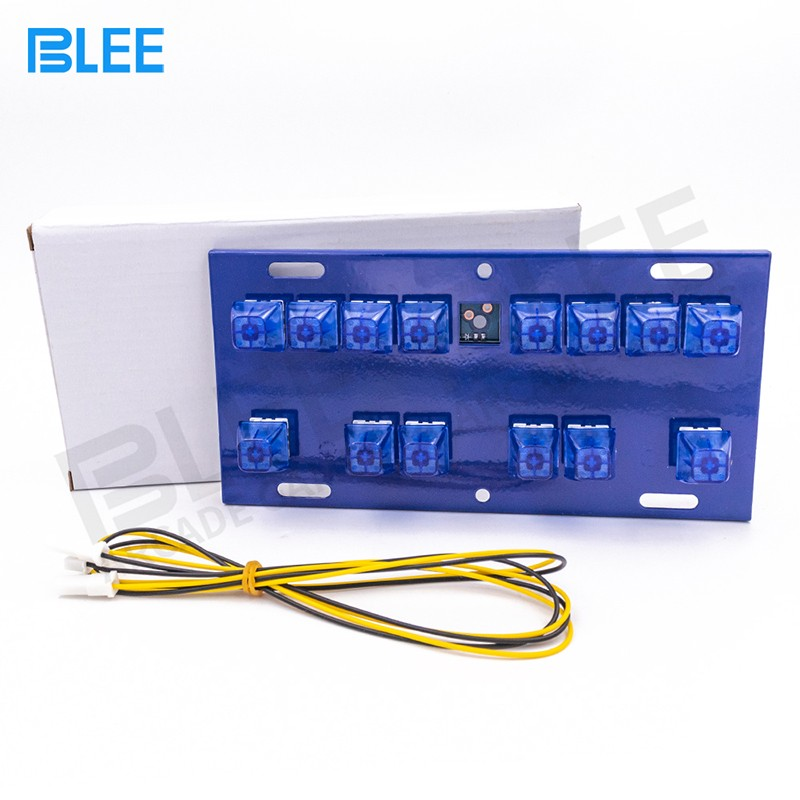 product-Slot Game Machine Lighted Keyboard With 14 Keys Mechanical Button Switch Keyboard-BLEE-img