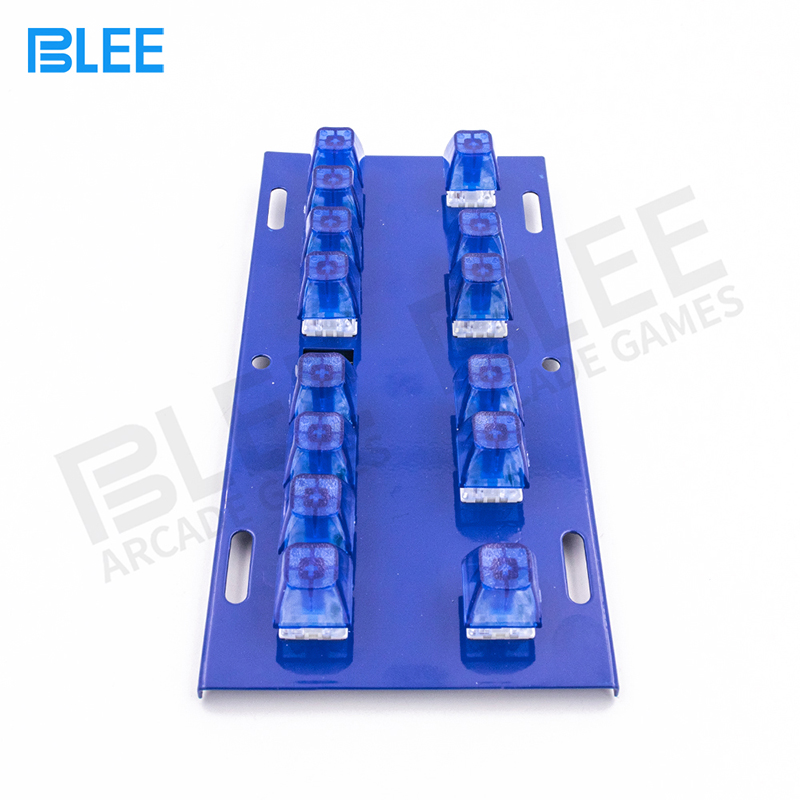 product-BLEE-Slot Game Machine Lighted Keyboard With 14 Keys Mechanical Button Switch Keyboard-img