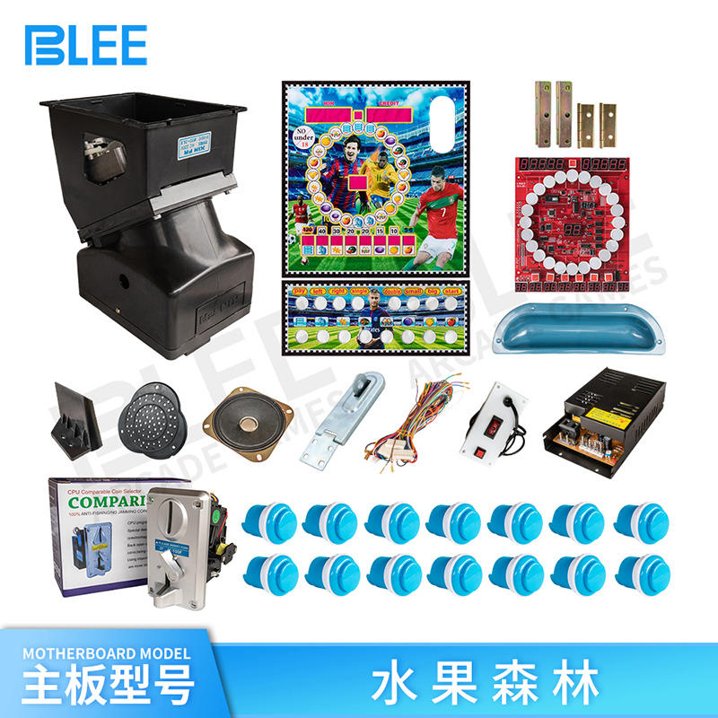 DIY Indoor table top mario slot game machine kit/slot machine game kit/coin operated gambling slot machine kit