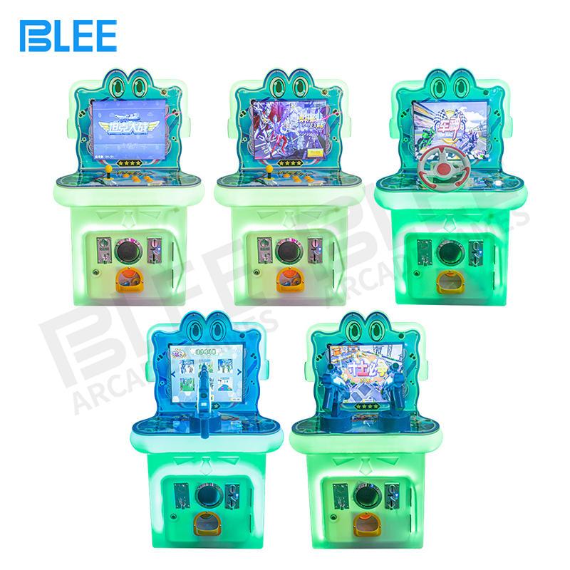 Kids mini arcade game mchine set