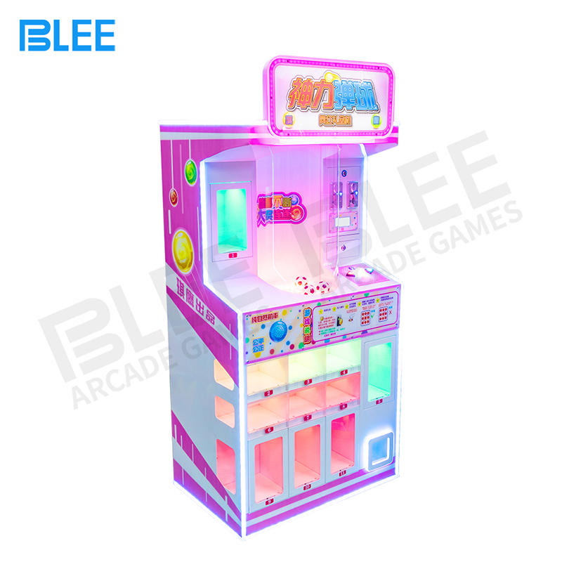 Colourful Coin Operated Mini Pinball Arcade Game Machine