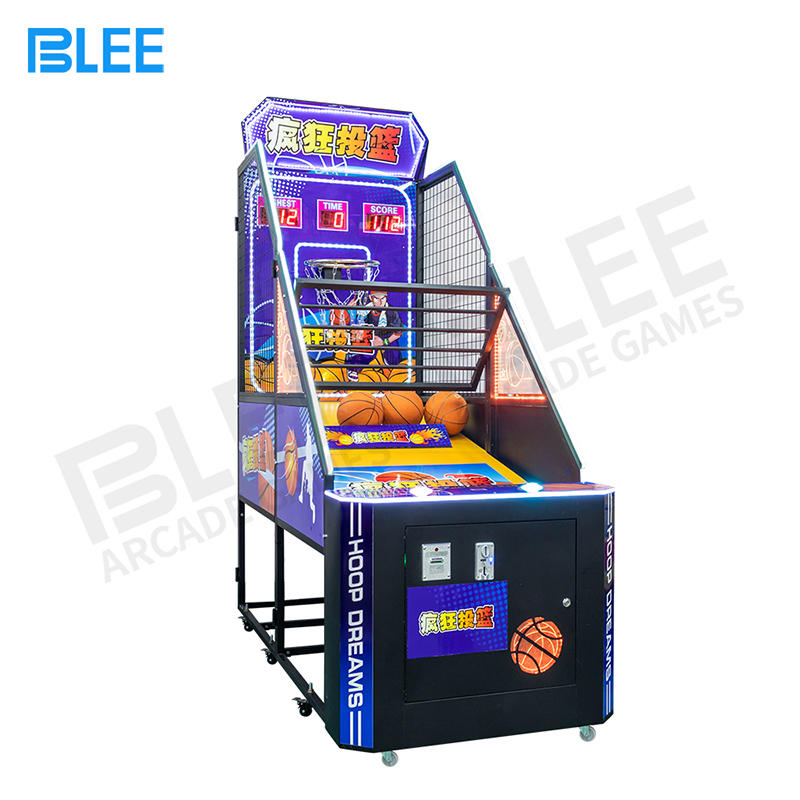 Basketball Game Coin Operated Arcade Games Machine