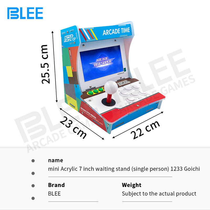 product-Best 7 inch Mini Coin Operated Arcade Game Machines Console-BLEE-img-1