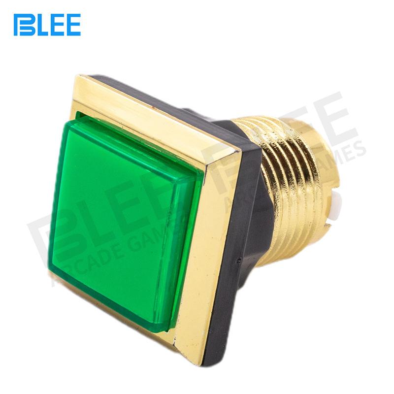 product-BLEE-34mm Led Illuminated Momentary Rectangular Arcade Push Button Machine Parts-img