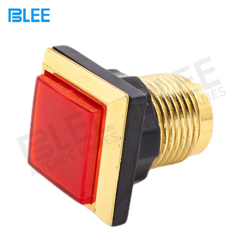 product-BLEE-34mm LED Illuminated Momentary Rectangular Push arcade button-img