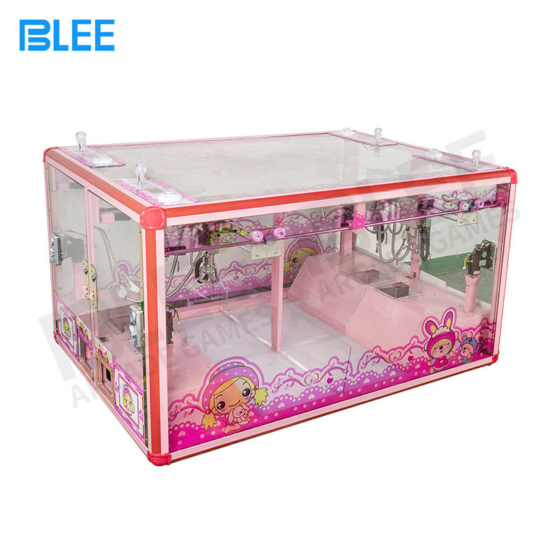 4 Player Mini Fully Transparent Claw Crane Arcade Game Machine Parts