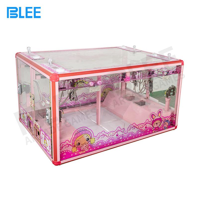 4 Player Mini Fully Transparent Claw Crane Arcade Game Machine Parts