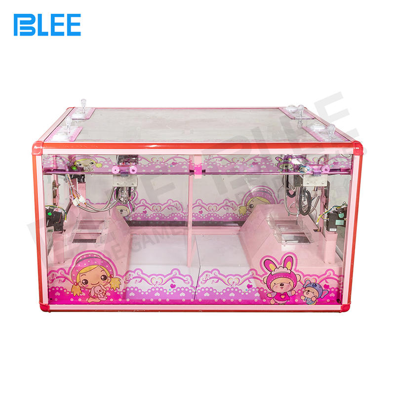 product-4 Player Mini Fully Transparent Claw Crane Arcade Game Machine Parts-BLEE-img-1