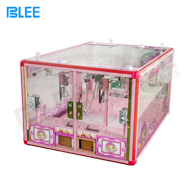 product-BLEE-4 Player Mini Fully Transparent Claw Crane Arcade Game Machine Parts-img