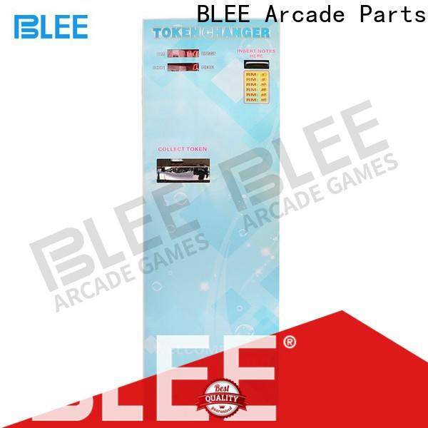 BLEE game coin change machine with low price for children