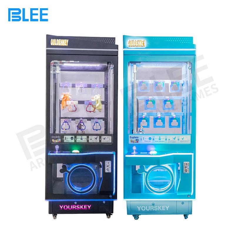 arcade game key master machine