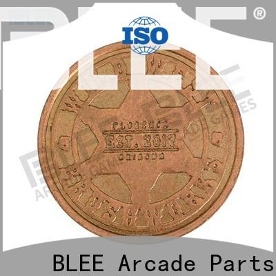 BLEE funny promotional coins tokens wholesale for free time