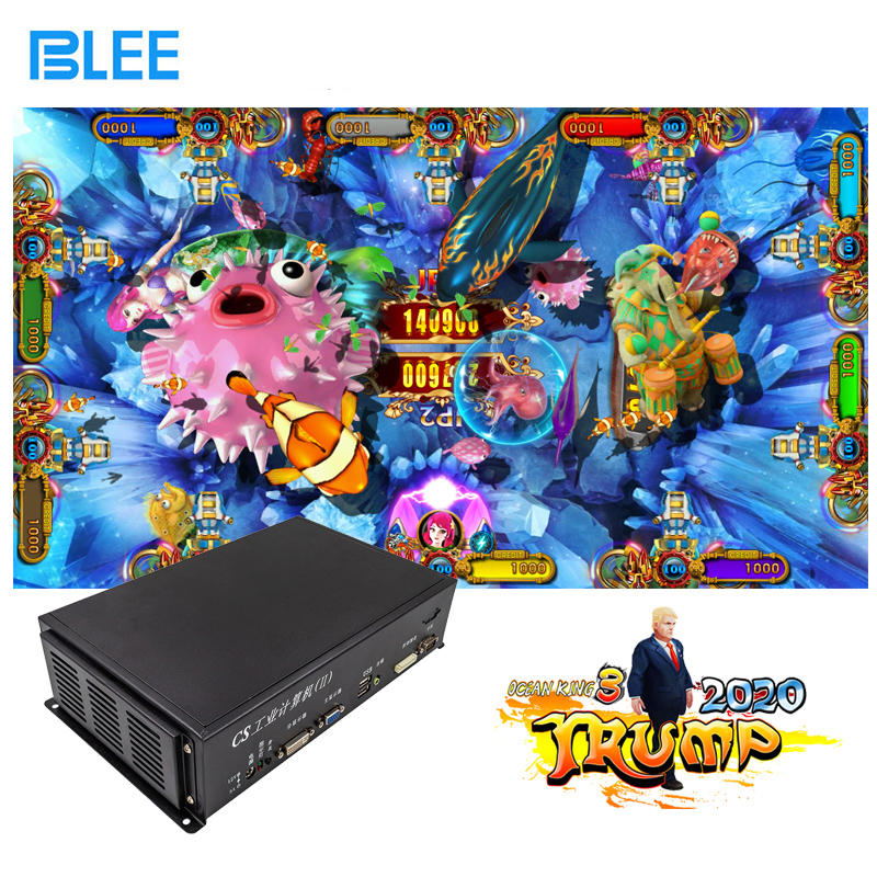 product-Fish Arcade Gambling Machines Game Kit 68 player With Bill Acceptor-BLEE-img-1