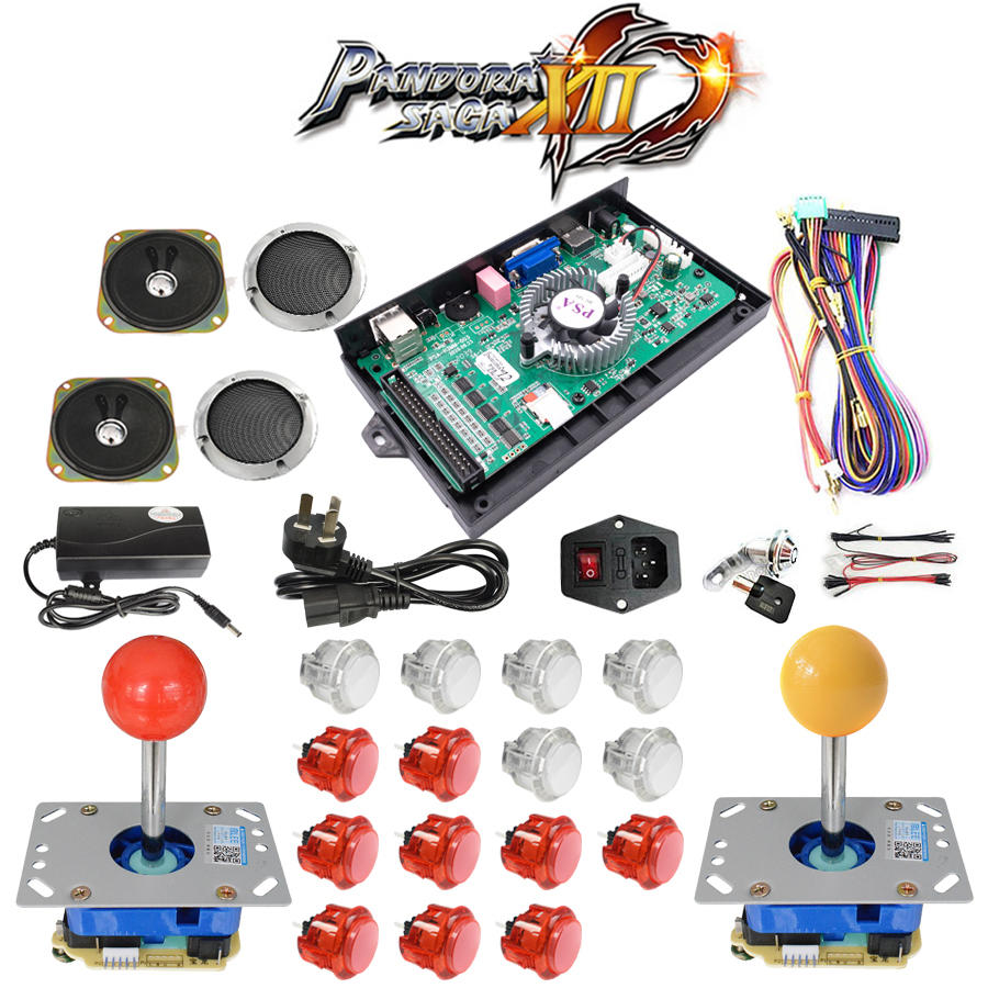 3188 game pandora box 12 DIY home version arcade game console