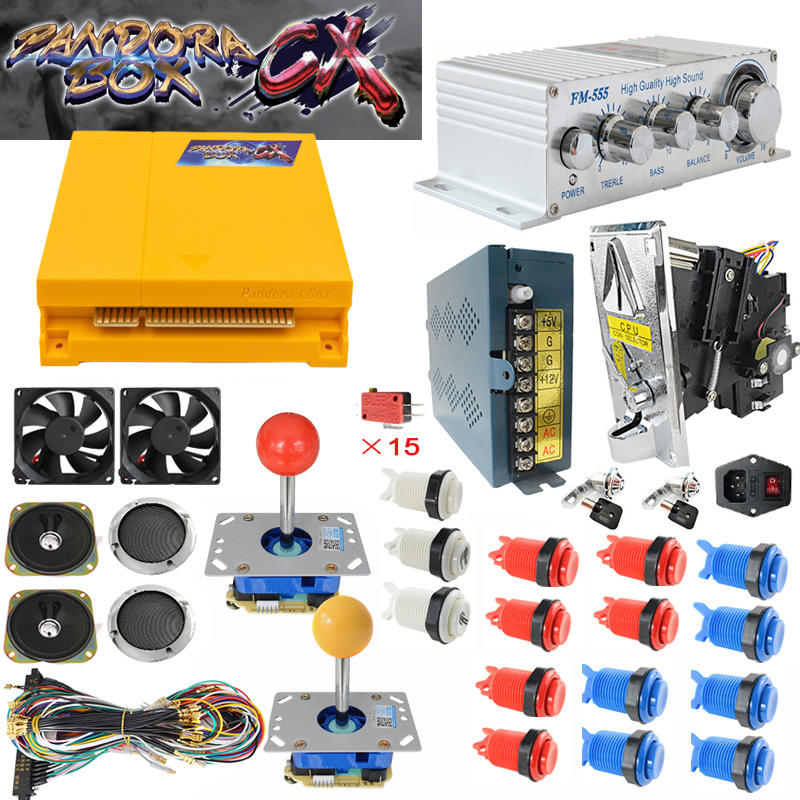 Pandora Box Arcade Jamma Caja de CX 3d Pandora Box 2800 game kit