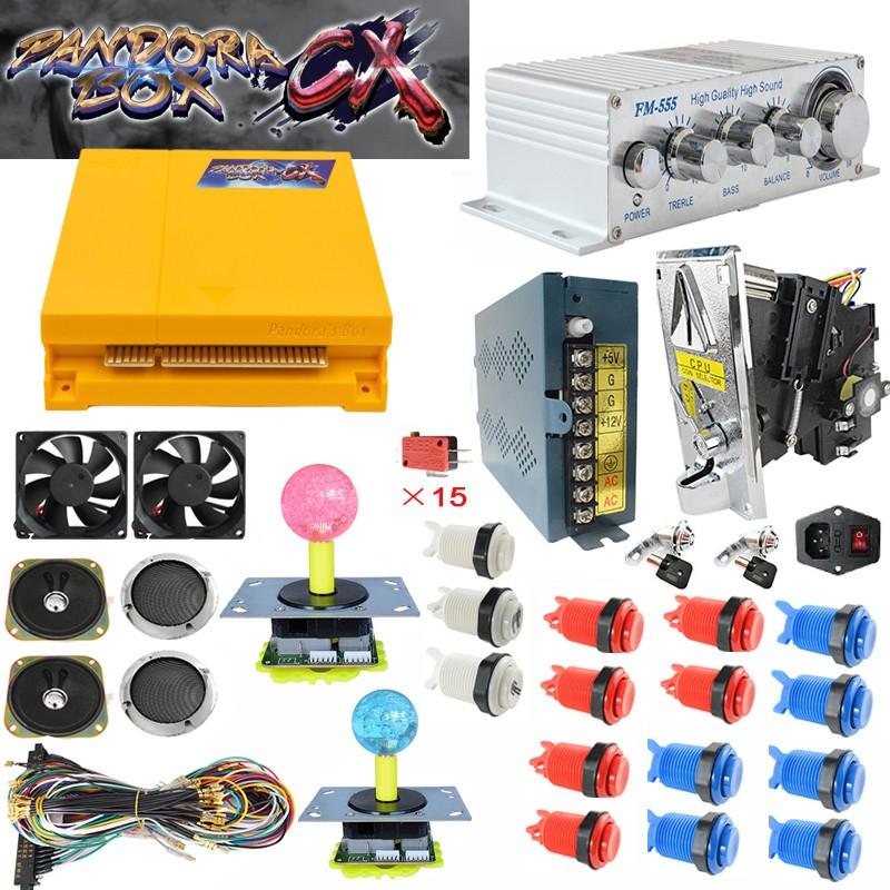 product-Pandora Box Arcade Jamma Caja de CX 3d Pandora Box 2800 game kit-BLEE-img