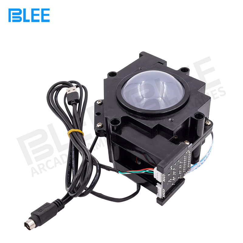product-Arcade Trackball 3 inch Connector PC arcade game Tracking ball mouse design with usb interfa