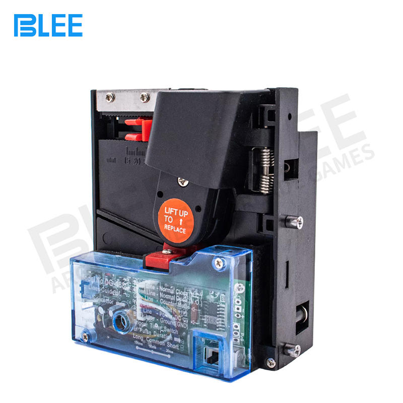 new model multiple coin pusher acceptors DG188C coin acceptor for car wash machine