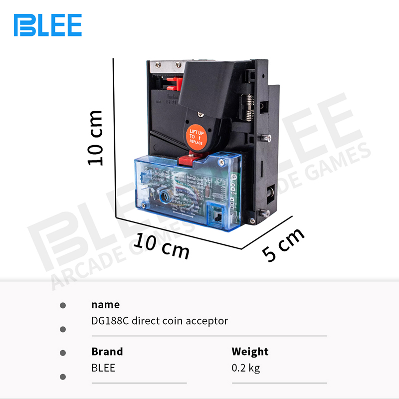 product-new model multiple coin pusher acceptors DG188C coin acceptor for car wash machine-BLEE-img