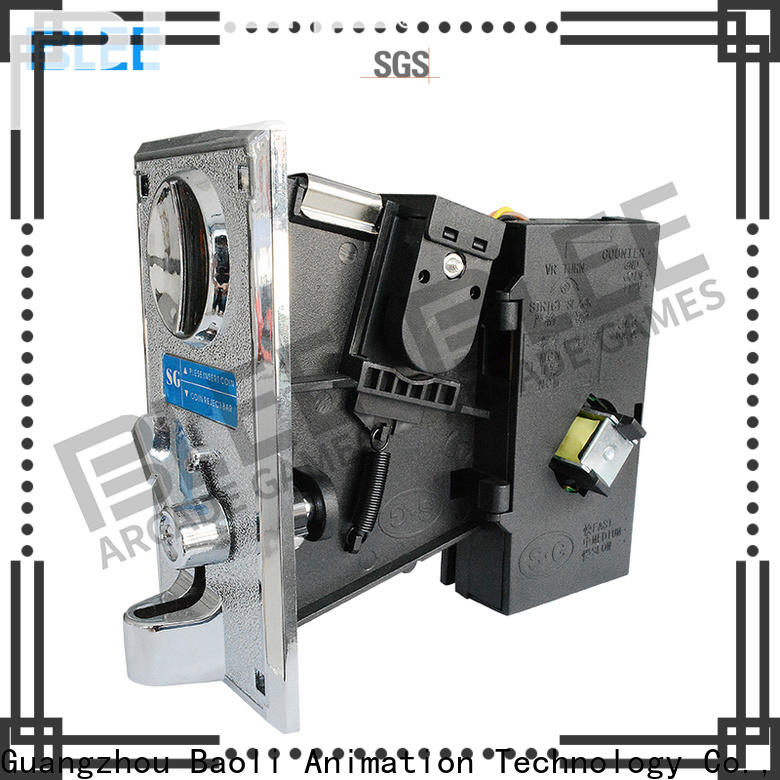 BLEE funny electronic coin acceptor for shopping