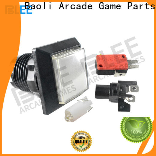 BLEE transparent arcade push buttons factory price for picnic