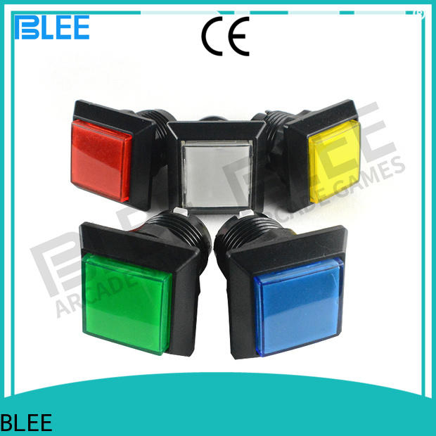 BLEE funny arcade push buttons from manufacturer for marketing