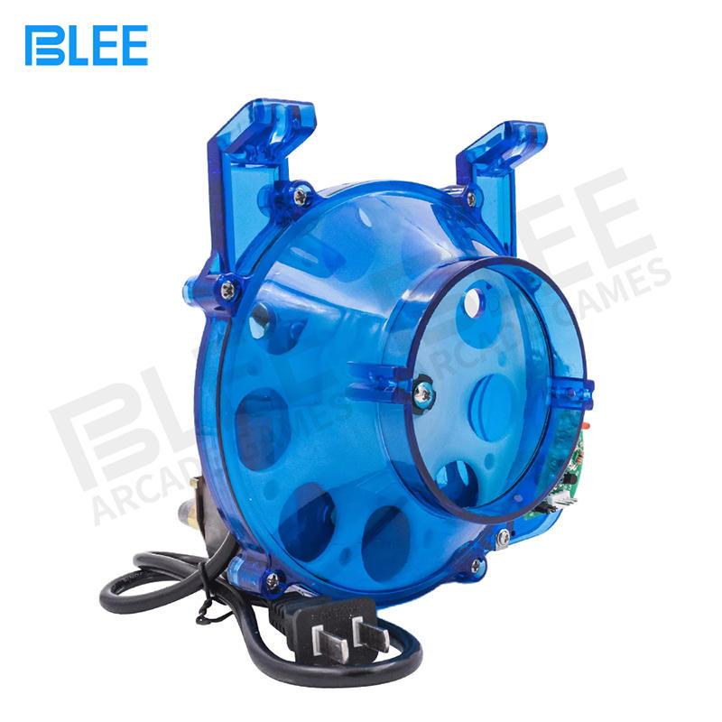 arcade game machine plastic blue coin hopper