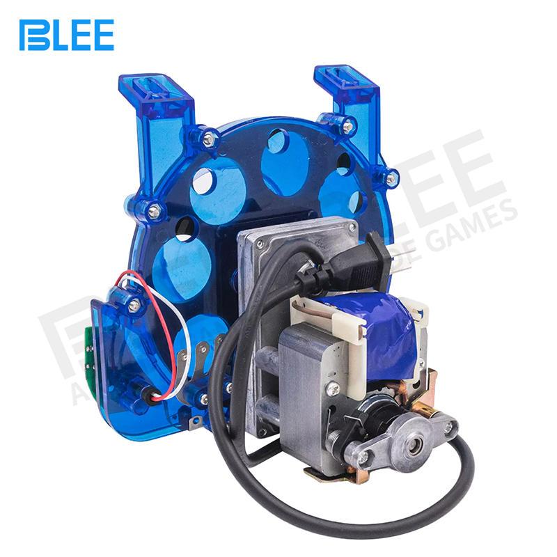 Blue plastic 8 hole Coin hopper For Arcade slot Game Machine(diameter:24-29mm)