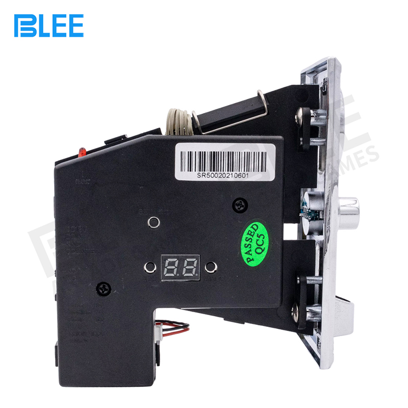 product-BLEE-SR500 Multi Coin Acceptor Alloy panel-img