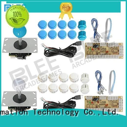 BLEE joystick arcade buttons kit export worldwide for shopping mall