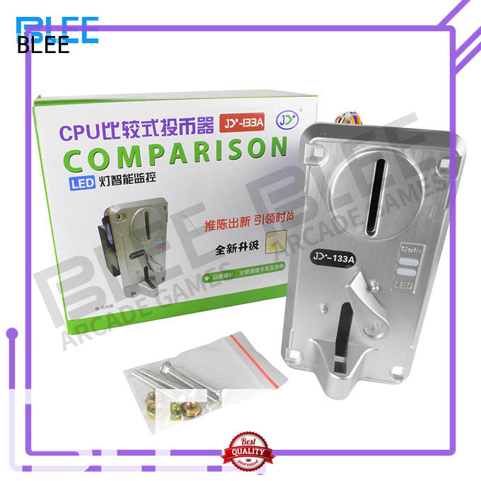BLEE easy vending machine coin acceptor free design for marketing