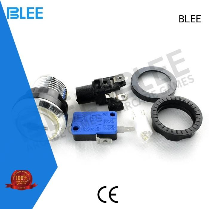 BLEE hot sale led arcade buttons bulk production for free time
