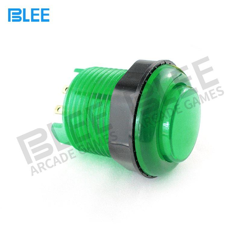 BLEE-Sanwa Clear Buttons Manufacture | Free Sample 28mm Luminous Arcade Stick Buttons-1