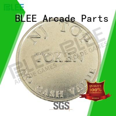 BLEE fine-quality custom coins tokens wholesale for vending machine
