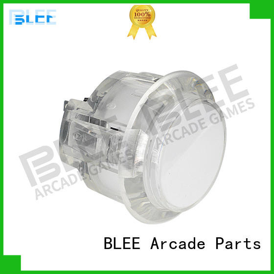 BLEE chrome arcade buttons bulk production for children