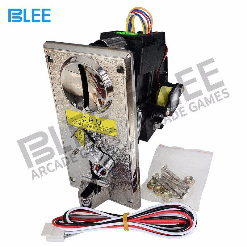 BLEE-Professional Multi Coin Acceptor Claw Crane Machine Electronic Multi Coin